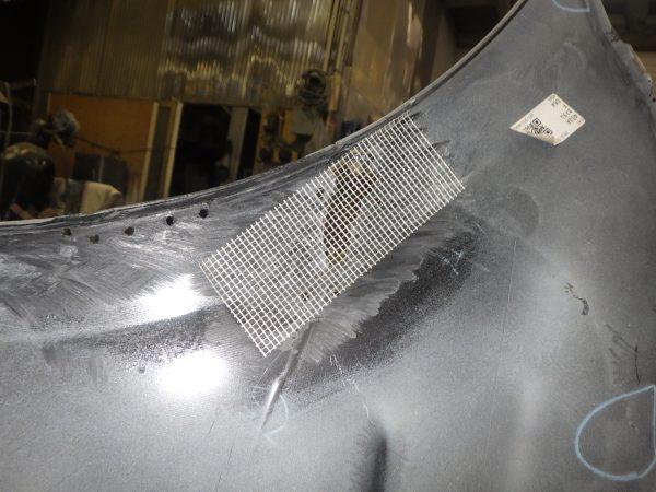 toyota トヨタ シエンタ バンパー ウレタン ボンド 整形 割れ 破損 修理 新潟市 南区