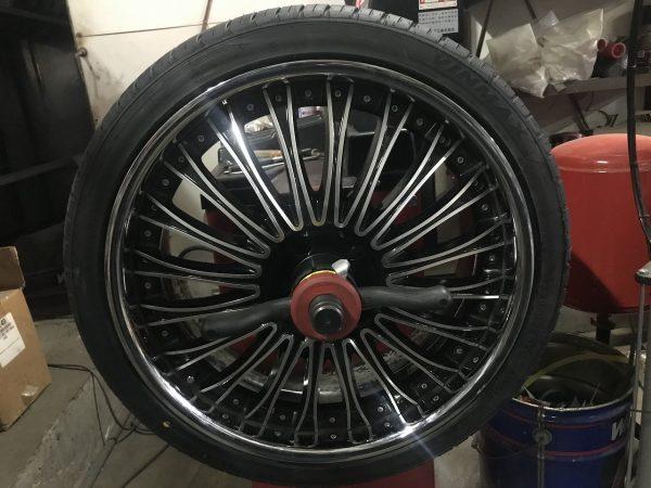 普通タイヤ タイヤ 35 扁平 20インチ 22インチまで 組み替え 持ち込み バンバンOK 新潟市 南区